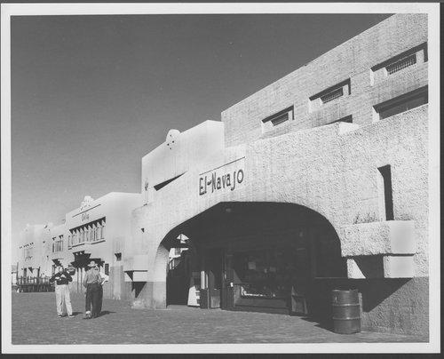 Atchison, Topeka & Santa Fe Railway Company's El Navajo, Gallup, New Mexico - Page