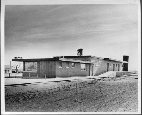 Atchison, Topeka & Santa Fe Railway Company depot, Lamesa, Texas - Page