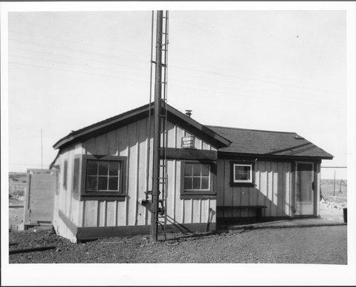 Atchison, Topeka and Santa Fe Railway Company depot, Canyon Diablo, Arizona - Page