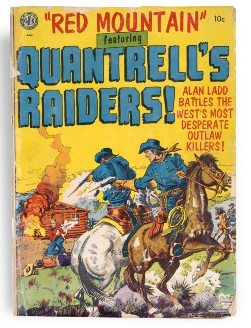 Quantrell's Raiders comic book - Page