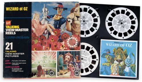 Wizard of Oz view-master reels