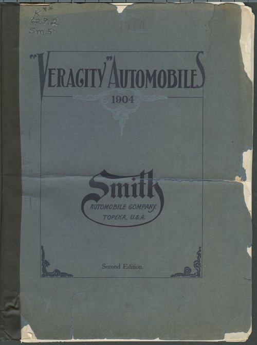 Veracity automobiles. Second edition. Smith Automobile Co., Topeka, Kansas - Page