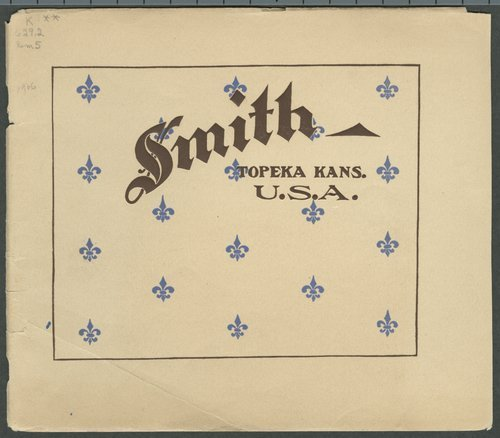 Catalogue-treatise upon the automobile. Smith Automobile Company, Topeka, Kansas - Page