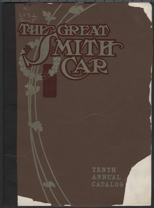 The Great Smith car. Tenth annual catalog - Page