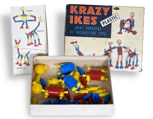 Krazy Ikes construction set - Page