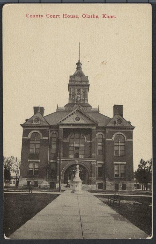 Courthouse, Olathe, Kansas - Page