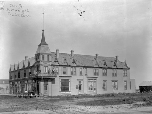 Windsor Hotel in Springfield, Kansas - Page