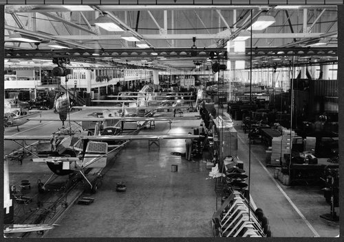 Cessna assembly line, Wichita, Kansas - Page