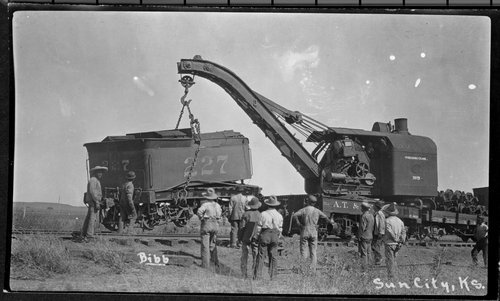 Train wreck, Sun City, Kansas - Page