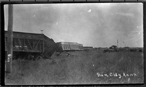 Train wreck, Sun City, Kansas - Page
