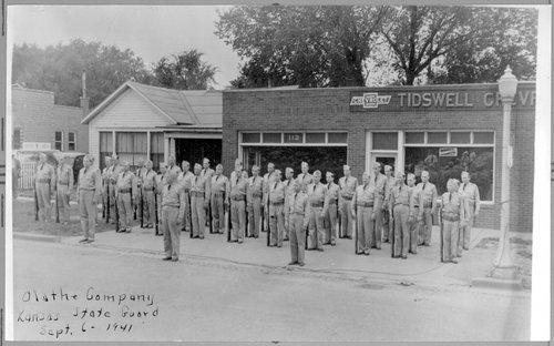 Kansas State Guard, Olathe, Kansas - Page