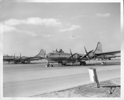 B-29s, Salina, Kansas - Page