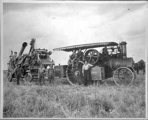 Harvesting Crew, Edwards County, Kansas - Page
