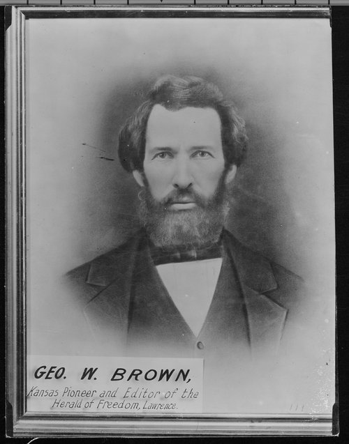 Photograph of George Washington Brown