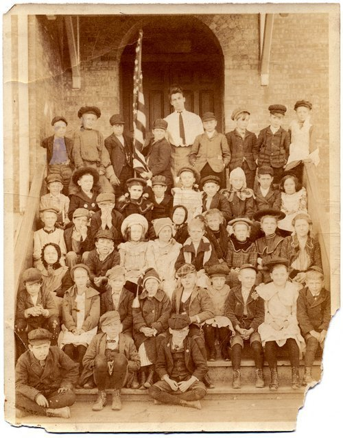 Children at a school near Pratt, Kansas - Page