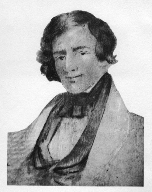 Drawing of Jedediah Smith