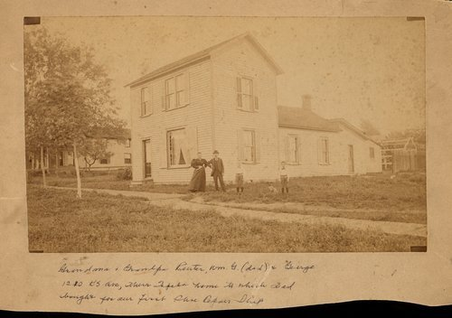 George and Fredericka Reuter's home in Topeka, Kansas - Page