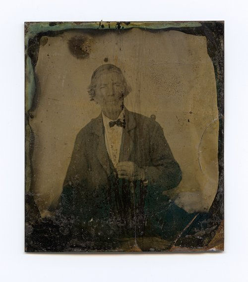 Unidentified man related to Joseph Nickell - Page
