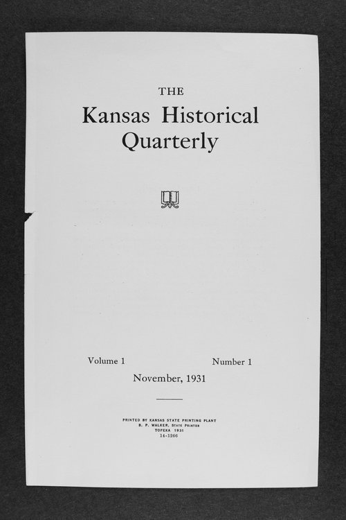 Kansas historical quarterly - Page