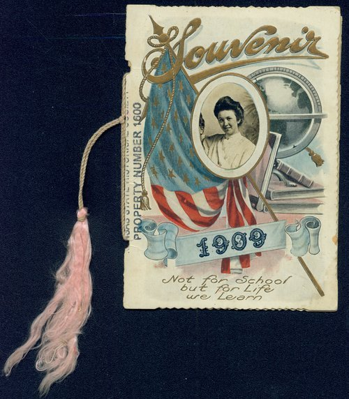 Souvenir, 1909, for Stone School, District Number 56, Woodson County, Kansas - Page