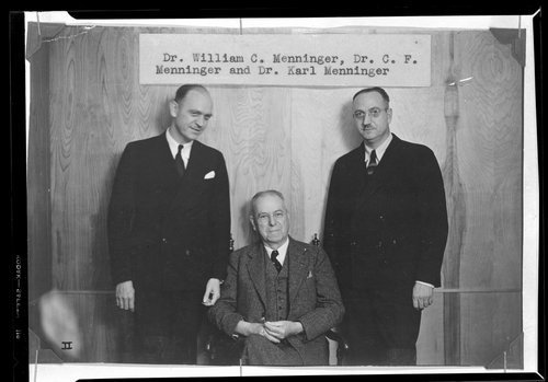 Dr. C. F. Menninger and sons - Page