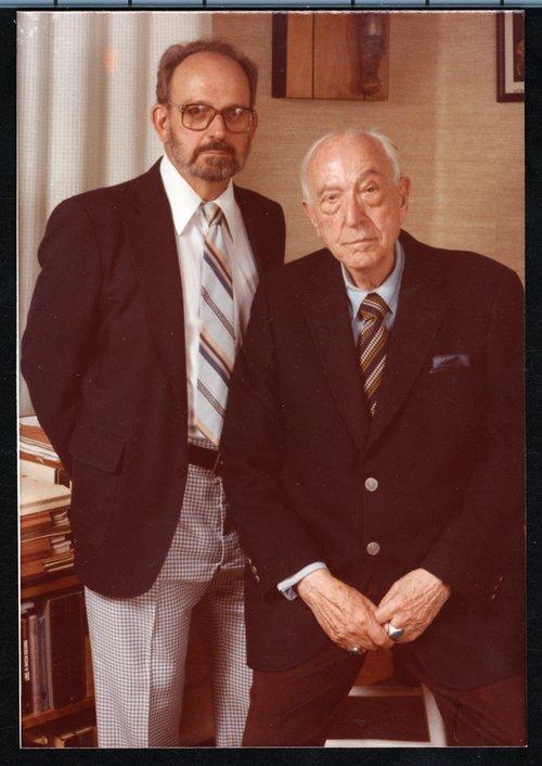 Karl and Robert Menninger, 1988 - Page