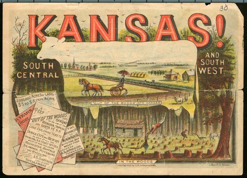 Kansas! Out of the woods into Kansas - Page