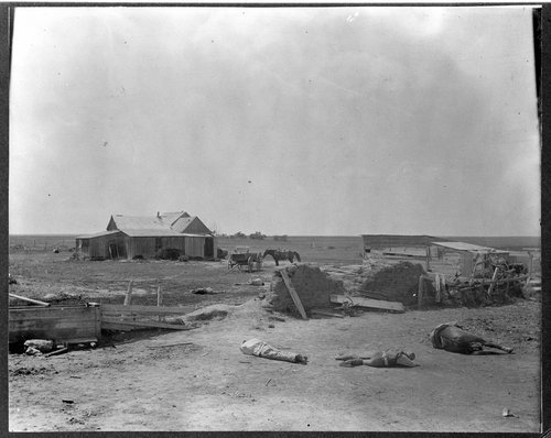 Reenactment of the Dewey-Berry feud in Rawlins County, Kansas - Page