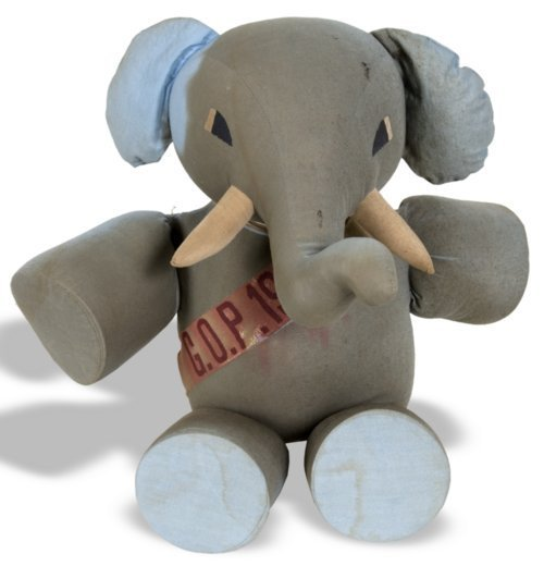 Republican elephant stuffed toy - Page