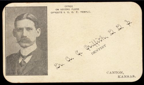 A. C. Griffith business card - Page
