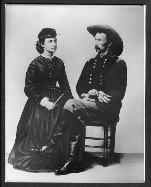 George Armstrong and Elizabeth Custer - Page