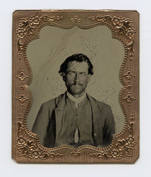 Unidentified member of the 5th Kansas Volunteer Cavalry - Page