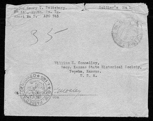 Henry T. Salisbury, World War I soldier - Page