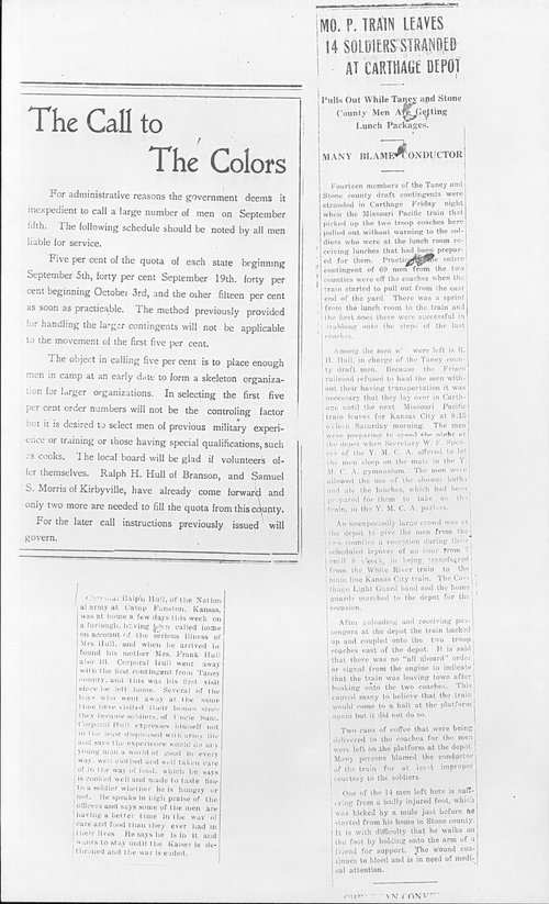 Ralph H. Hull, World War I soldier - Page