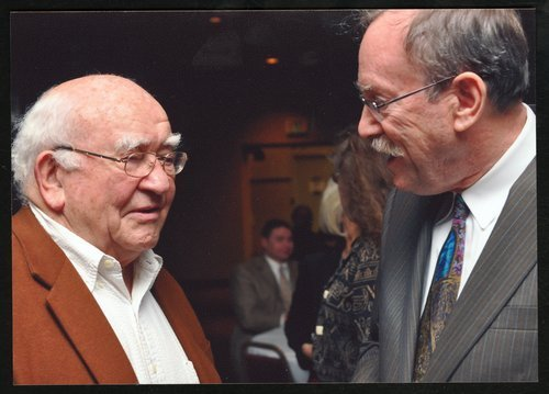 Edward Asner and Dan Lykins - Page
