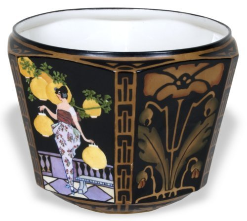 Hand painted Jardiniere - Page
