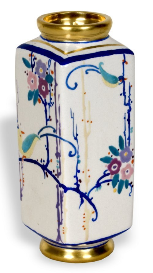 Hand painted vase - Page