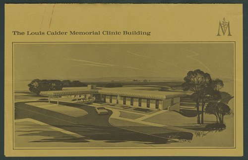 Groundbreaking at the Calder Building, Menninger Clinic, Children's Division, Topeka, Kansas - Page