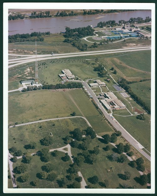 Aerial views of the Menninger Clinic Children's Division in Topeka, Kansas - Page