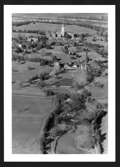 Aerial view of Menninger West Campus, Topeka, Kansas - Page