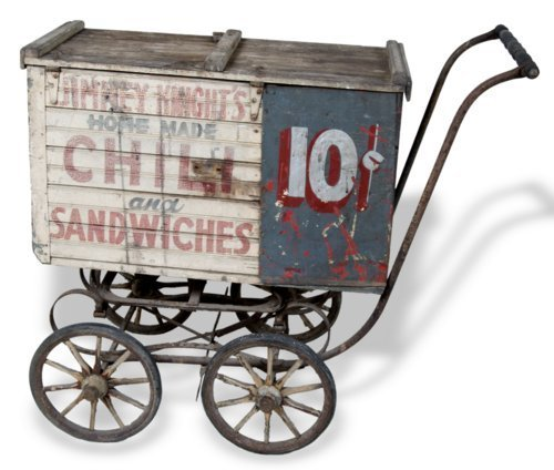 Food vending handcart - Page