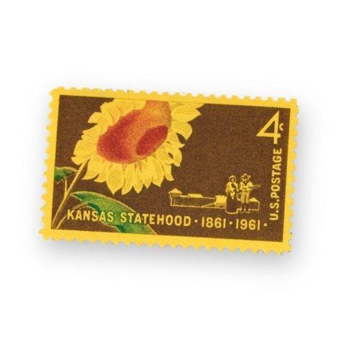 Kansas Centennial stamp - Page
