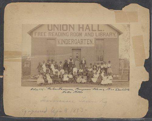 Tennessee Town kindergarten, Topeka, Kansas - Page