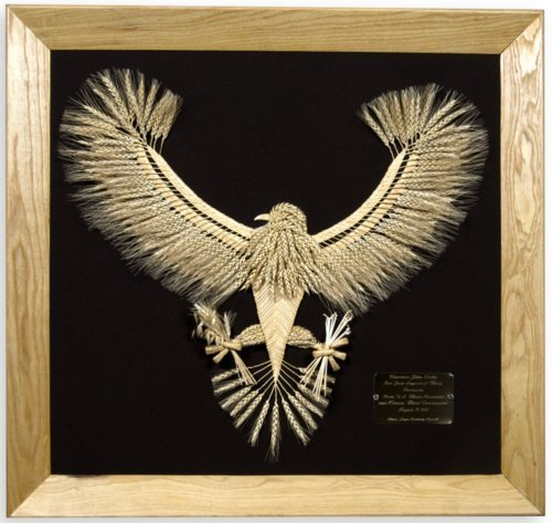 Eagle wheat weaving - Page