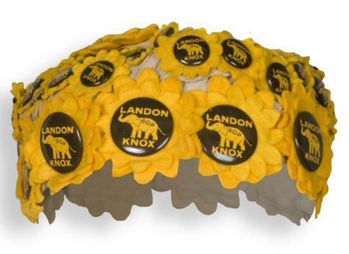 Alfred Landon campaign button cap - Page