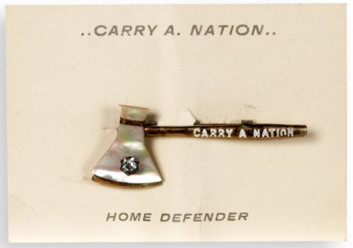 Carry Nation souvenir pin - Page