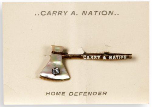Carry Nation souvenir pin - Page
