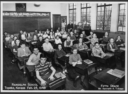 Randolph School, Topeka, Kansas - Page