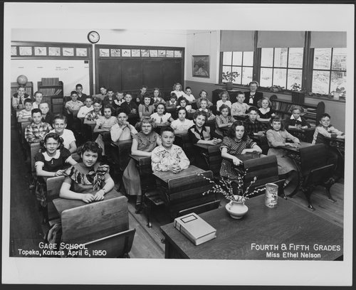 Gage School, Topeka, Kansas - Page