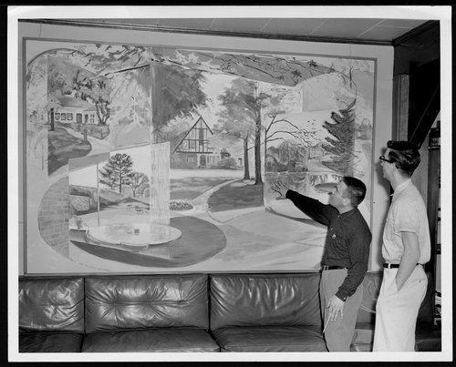 Art at Menninger Clinic in Topeka, Kansas - Page